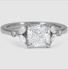 Brilliant Earth's Verbena Diamond Ring is feminine and nature inspired.