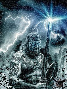 Explore the vikings collection - the favourite images chosen by sagaYago on DeviantArt. Viking Power, Viking Life, Viking Art, Viking Warrior, Tattoo Odin, Halls Of Valhalla, Viking Images, Greek Olympians, Les Runes