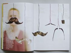 The Mustace: A History - Editorial Spread on Behance