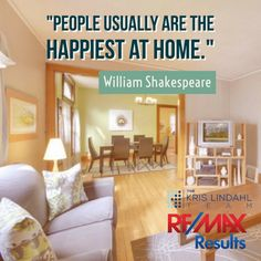 People are always the happiest at home.  #Home #Happiness #KrisLindahlTeam
