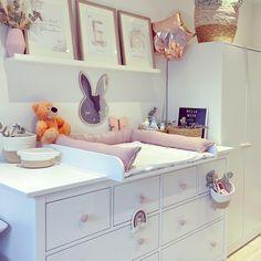 Hemnes, Ikea Baby Room, Emily Rose, Modern, Vanity, Nursery, Furniture, Home Decor, Bedroom