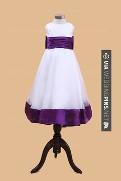 Yes - Perfect ball gown organza over satin sleeveless flower girl dress | CHECK OUT MORE GREAT FLOWER GIRL AND RING BEARER PHOTOS AND IDEAS AT WEDDINGPINS.NET | #weddings #wedding #flowergirl #flowergirls #rings #weddingring #ringbearer #ringbearers #weddingphotographer #bachelorparty #events #forweddings #fairytalewedding #fairytaleweddings #romance
