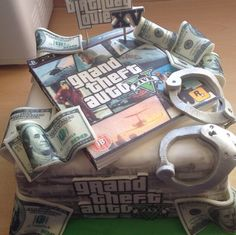 Grand Theft Auto 5 #GTA #cakes #gametime