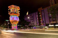 Alumbrados Navideños Avenida Oriental Medellín 2013