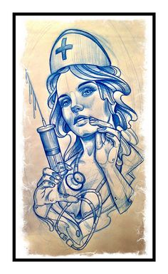 Tattoo Artwork by Sam Clark Tattoo Old School, Tattoo Sketches, Tattoo Drawings, Art Sketches, Sketch Drawing, Sailor Jerry, Pin Up Tattoos, Girl Tattoos, Tatuajes New School