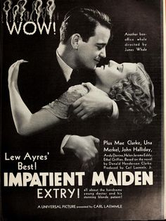 "Image result for ""Impatient Maiden"" 1932"
