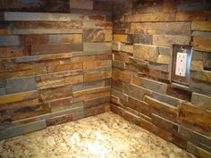 My Solution For Outlet Covers When Using Irregular Stone Kitchen Backsplash S In 2019