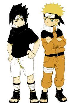 Friend Forever Naruto and Sasuke