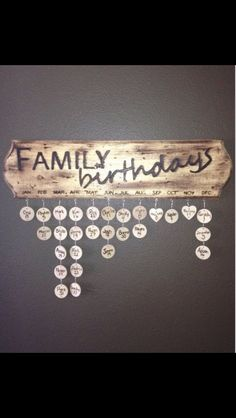 Such a great idea, especially because I am horrible about remembering birthdays
