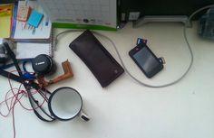 Meja kerja Toshiko