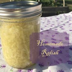 How to make Homemade Relish.  Learn how to make homemade relish in just 6 easy to follow steps