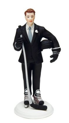 Weddingstar Hockey Groom Mix  Match Cake Topper *** See this great product. (This is an affiliate link) #DecoratingTools