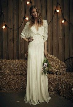 d2a61de62b6a Jenny Packham Country Style Wedding Dresses, Civil Wedding Dresses, Beaded Wedding  Dresses, Bohemian