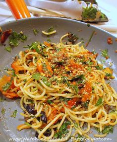 Pasta Puttanesca ~ The Silver Palate Cookbook. One of my quickie standards for 30 years now!
