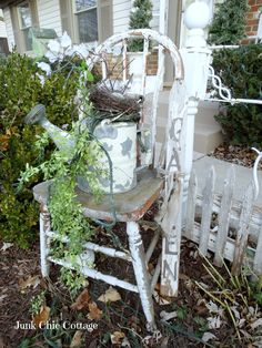 Junk Chic Cottage: Christmas Entry