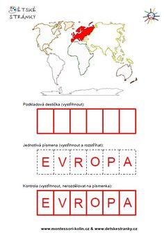 Montessori zeměpis
