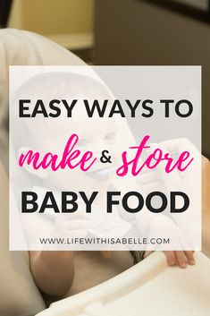 Essentials for making and storing homemade baby food! My collection of must-have products for preparing baby food at home. Perfect guide for moms with little ones who are just starting solids. Store Baby Food, Starting Solids, Thing 1, Baby List, Homemade Baby Foods, Baby Led Weaning, Pregnancy Tips, Mom Blogs, Baby Care