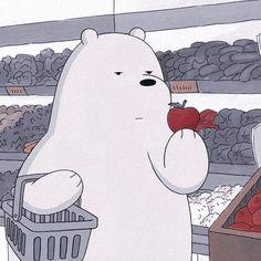 Ice Bear We Bare Bears, We Bear, Bear Wallpaper, Cartoon Wallpaper, We Bare Bears Wallpapers, Cute Wallpapers, Vintage Cartoon, Cute Cartoon, Cartoon Profile Pictures
