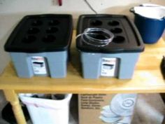 Deep Water Culture Hydroponic system - how to build a hydroponic garden