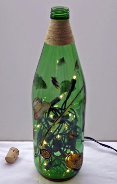 FRESH WATER FISHING Recycled Bottle Accent by CanDezign on Etsy, $19.00