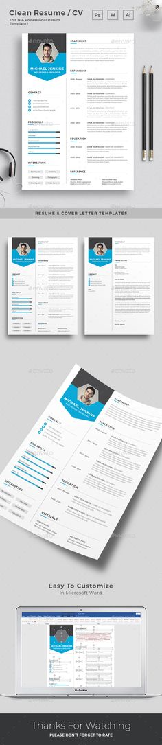 Resume - #Resumes #Stationery