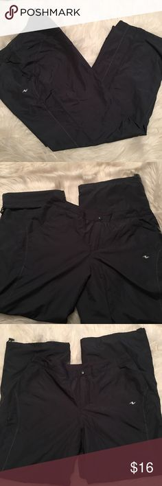 Ladies Lined Athletic Pants Size Large 12-14, color gray, lined athletic pants, snap Button front in great condition Athletic Works Pants Track Pants & Joggers