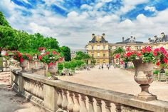 What to do in Paris - Places to visit in Paris France - Luxembourg Gardens