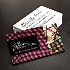 Customizable makeup artist business card template makeup artist fully customizable makeup artist business cards created by colourful designs inc flashek