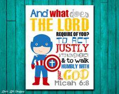 Please read entire description before purchase :)  Micah 6:8 Bible Verse. Seek…