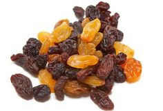 The health benefits of raisins include relief from constipation, acidosis, anemia, fever, sexual weakness. Raisins also help in weight gain, eye care, dental care, and bone health.
