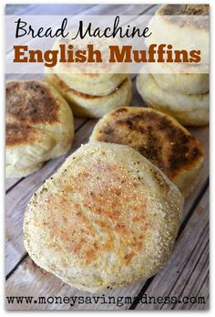 Bread Machine English Muffins