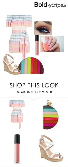 """""""Untitled #71"""" by em-ro ❤ liked on Polyvore featuring Mara Hoffman, Sophie Hulme, Bare Escentuals, Charles by Charles David and Cotton Candy"""