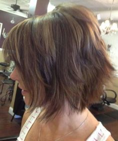 Cool Trendy Short Bob Shag & Bouncy Hairstyles 2017-2018