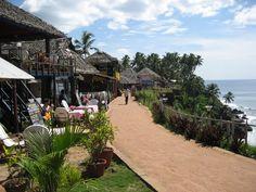 GO BACK TO! Varkala Cliffs. Kerala India