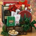 Happy Holidays Holiday Gift Basket