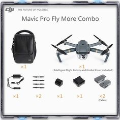 In stock!2017 Newest Original DJI Mavic pro drone fly more combo with 4K video 1080p camera rc helicopter 27 mins Flight time