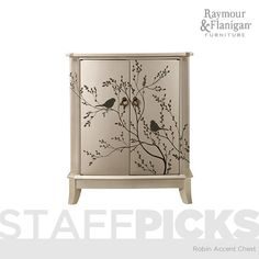 Robin Accent Chest | This accent chest will add a little something special to almost any room in your home.  #RaymourandFlanigan