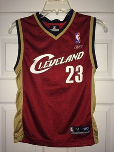 e1b6b054634 Sale Vintage Reebok CLEVELAND Basketball Jersey NBA by casualisme Cleveland  Basketball