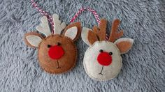 Felt Rudolph the Red Nosed Reindeer/ Christmas by MyCraft2You