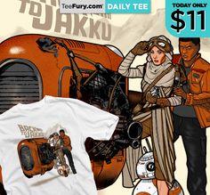 """Daily Tee """"Back to Jakku"""" by ninjaink!"""
