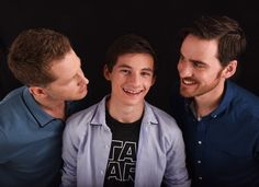 Josh Dallas, Jared Gilmore and Colin O'Donoghue at San Diego Comic Con Photoshoot 2016 - 23 July 2016