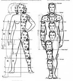 начальное построение фигуры человека эскиз - Поиск в Google