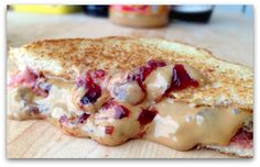 Grilled Peanut Butter & Jelly Sandwich recipe