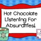 Have fun listening for absurdities with this fun, winter themed activity!  Use these cards with any motivating activity/game!