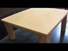 COMO HACER UNA MESA DE MADERA - WOODEN TABLE - PART 2 - YouTube