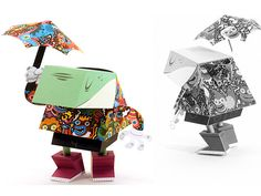 Paper Toy de Tougui para DandyFrog