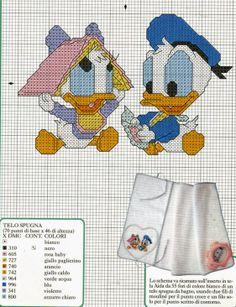 Baby Donald & Daisy