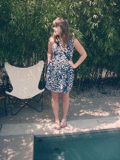 Zara Dress, Bernardo Sandals