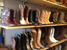 Goodbuy Girls is a consignment shop cram jam full of clothing with an entire wall dedicated to boots already roughed up and loved for you, starting at $ forty at Goodbuy Girls, 1108 Woodland St. in Nashville 281-9447