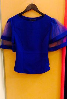 Blue top ! One left size small